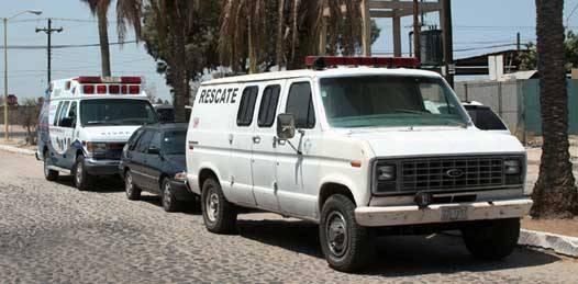 Mínimo el número de ambulancias para el nivel poblacional de La Paz. Sólo 7 unidades en servicio