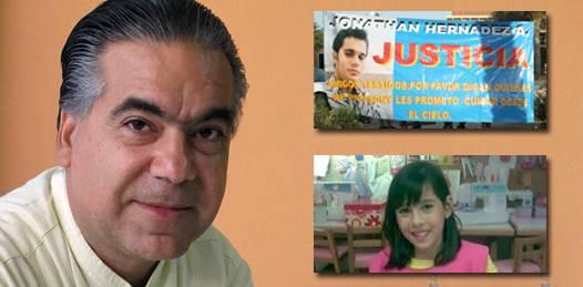 Jonathan, Lisset, Asael, tres casos, tres deudas de la PGJE con la sociedad