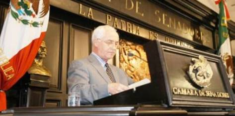 Coppola Joffroy recordó que el 21 de abril de 2008 demandó que se aprobara la instalación de un arco de rayos gamma en el punto de revisión existente en la población de Guerrero Negro, para acabar con el tráfico de personas y de mercancías que presuntamente se cometen ahí.