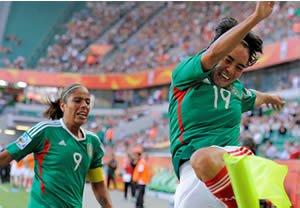 Empata Tri femenil  1-1 con Inglaterra