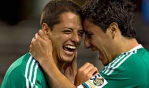 Vence México 5-0 El Salvador