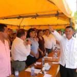 Jorge Joel Cota Ruíz, solicitó al alcalde el retiro de los nuevos funcionarios que colocó antes del plebiscito del 12 de junio y lo invitó a juntos formar una plantilla de trabajadores con vocación de servicios para hacer de Santiago, la delegación más ordenada y exitosa del municipio de Los Cabos.