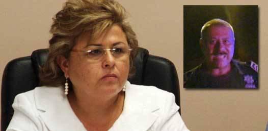 """""""Personal heredado"""", el policía municipal que agredió a reporteros. Habrá sanción para el elemento, garantiza alcaldesa"""