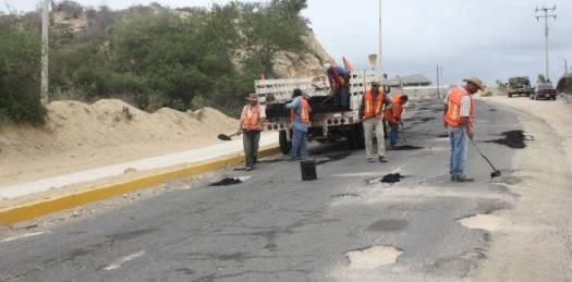 Rehabilitan la carretera a Los Planes – El Sargento