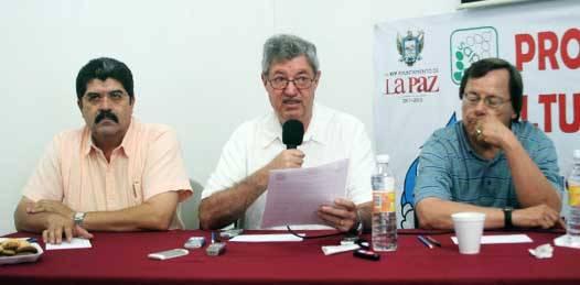 Denuncia el XIV Ayuntamiento  desvío de 20 millones de pesos en OOMSAPAS La Paz