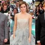 Al final, en la despedida del evento, transmitido a varios lugares del mundo, tanto la escritora como Emma Watson rompieron en llanto, agradeciendo una vez mas a los que acamparon durante varios días solo para verlos.