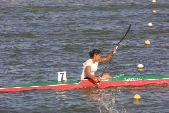 Queda Alicia Guluarte en sexto lugar mundial en relevos K1