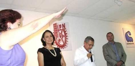 La directora dijo que trabajaría incansablemente por consolidar una institución, la cual recientemente celebró sus 35 años de fundación.