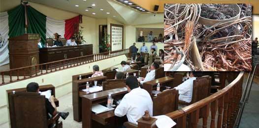 El Congreso ya hizo lo suyo contra el robo de cobre, ahora faltan las autoridades judiciales