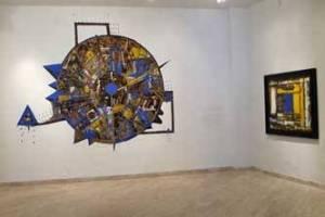 Expresionismo abstracto, constructivismo y arte conceptual de artistas mexicanos, uruguayos y canadienses hasta el 16 de septiembre en la Galería de Arte Carlos Olachea Boucsiéguez.