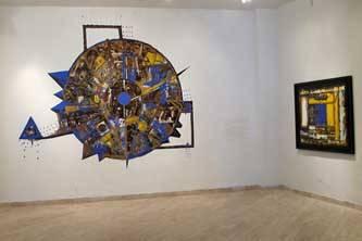 Expresionismo abstracto, constructivismo y arte conceptual en la  Carlos Olachea