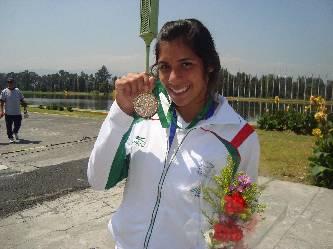 Finaliza Alicia Guluarte en sexto lugar en Alemania