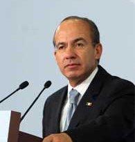 Urge Calderón al Congreso concluir la nueva ley de Seguridad Nacional