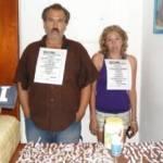 Ricardo Galván Soto y Francelia Guillermina Ramírez.