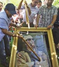 """Por un pelito"" se salvó Gadafi de ser capturado"