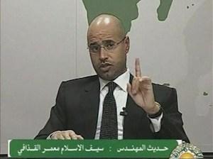 OTAN no puede detener guerra Libia, advierte el  hijo de Gaddafi