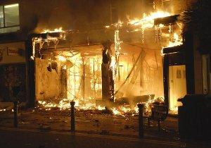 Gran Bretaña en llamas