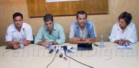 El éxito de la campaña será determinado por los habitantes, apuntó Agustín Olachea Nogueda, presidente del Consejo Directivo de EMPRHOTUR.