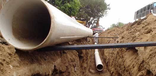 Destinan 54.3 mdp para infraestructura hidráulica en zonas urbanas