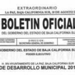 Ya fue publicado el Plan de Desarrollo Municipal de La Paz 2011–2015 en el Boletín Oficial del gobierno del Estado, y abarca cinco ejes operativos de la planeación del gobierno municipal.