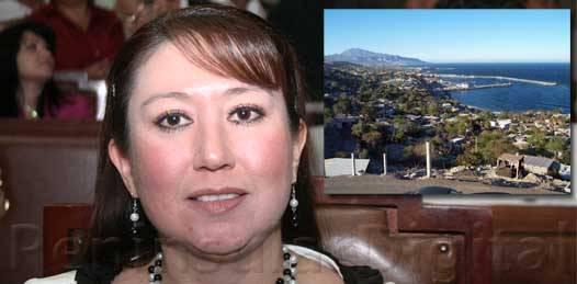 """""""Echele un ojo a Santa Rosalía"""" pide diputada al gobernador"""