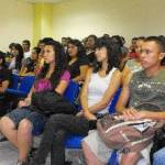 """La UABCS inauguró el ciclo académico """"Foro de Comercio Exterior 2011-II"""", el miércoles 9 de septiembre de 2011, en el Centro de Convenciones."""