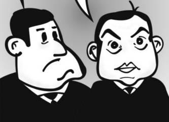 Los Cartones de Ricardo / «Nini» Barroso vs «Pobre» Cordero