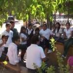 Con éxito concluyó el pasado viernes la primera etapa del Proyecto Ecológico Estudiantil (PEE): nuestro entorno y los riesgos de su contaminación.