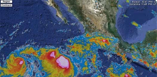A casi 1500km de sudcalifornia, Irwin y Jova se fortalecen
