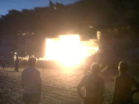 Incendio en el Hotel Capella