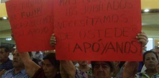 De nuevo, jubilados y pensionados se manifestarán contra la administración Covarrubias