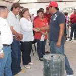 Ahora le tocó a la delegación Los Dolores la entrega de apoyos de los programas de tinacos, agrícola, pecuario y pesquero.