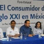 """UABCS y PROFECO llevaron a cabo el foro """"El consumidor en el siglo XXI en México"""", el pasado 12 de octubre de 2011, en el Centro de Convenciones de la universidad."""