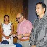 El pasado 14 de octubre la UABCS reconoció el trabajo que realizan los profesores-investigadores del Departamento Académico de Biología Marina.