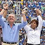 En su habitual agenda política de fin de semana Covarrubias Villaseñor atendió el llamado de su partido para flanquear a la candidata de la alianza PAN-PANAL, Luisa María de Guadalupe Calderón Hinojosa a la gubernatura de aquel estado.