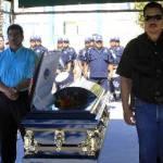 Tras una recepción de honor y una semblanza de su servicio como parte de la Policía Ministerial del Estado, el procurador dijo que los hechos que llevaron a la muerte de Manríquez no quedarían impunes.