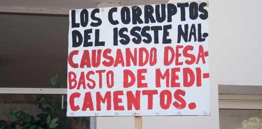 Ahora empleados del ISSSTE se manifestarán contra la institución