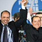 """""""Ha llegado la hora de Alfano, será nuestro candidato, es realmente bueno, mejor de lo que uno puede pensar y su liderazgo ha sido aceptado por todos"""", dijo Berlusconi."""