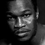 Fotografía del boxeador Larry Holmes