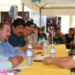 En la comunidad de Santiago fueron atendidos diversos usuarios sobre su recibo de agua y se asumieron compromisos como realizar con mayor frecuencia el mantenimiento de los cárcamos de rebombeo, redes de alcantarillado y agua potable.