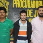"""Martín Ponceano Álvarez Espinoza alias """"El Guero"""", Manuel Alexis Verdugo Peralta y Luis José Ochoa Cázares alias """"El Chana¨."""