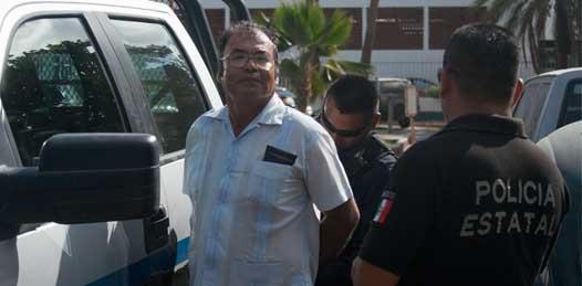 Por manifestarse contra el ISSSTE fue detenido por la Policía Estatal Preventiva