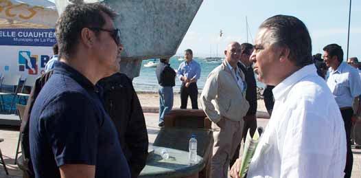Encara Daniel Hernández al Gobernador y al Procurador de Justicia