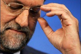 Anuncia España recorte al gasto público y alza de impuestos