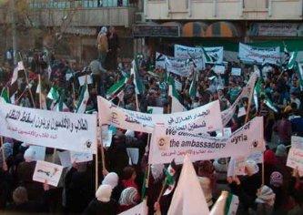 Inmersa Siria una guerra civil, ya suman más de 4 mil muertos
