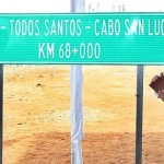 """El presidente tuvo un acto oficial ayer por la mañana en la que """"inauguró"""" un tramo de 90 kilómetros de la inconclusa carretera de cuatro carriles que une La Paz con Cabo San Lucas."""