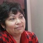 Leticia Cerón Camacho, líder estatal del Partido Nueva Alianza