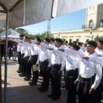 : Se gradúan 47 cadetes de la Policía Municipal y ofrecieron ejercicios como prueba de sus conocimientos.