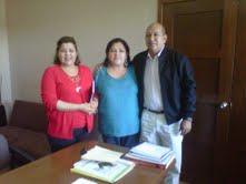 La Diputada Elizarrarás Cardoso hizo entrega formal de la documentación donde particulares ceden derechos de parte del predio donde será construida la nueva Escuela Secundaria Federal en este puerto.