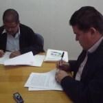 El Rector de la UABCS firmó el convenio con el Sindicato del Personal Académico en el que se establece el nuevo régimen de pensiones, jubilaciones y prestaciones de seguridad social.